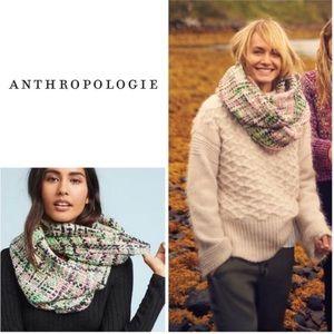 ANTHROPOLOGIE Lotte Erfurt Hjorth luxury scarf!NWT